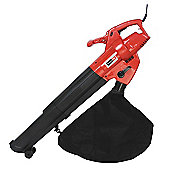 Callow Outdoor Garden Leaf Blower & Vacuum - Powerful 3000 Watt with Variable Speed