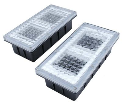 buy paverlight solar brick light clear from our solar. Black Bedroom Furniture Sets. Home Design Ideas