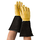Gold Leaf Tough Touch Gardening Gloves Mens