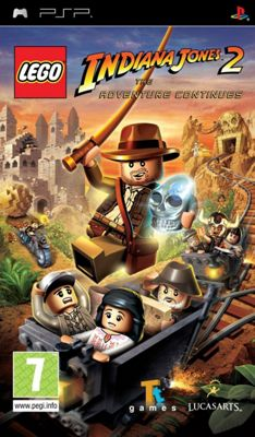 Psp Lego Indiana Jones 2 : The Adventure Continues - PSP