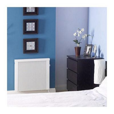 EHC Electric Combination Radiator, 630mm High x 380mm Wide, Manual Controls, 800 Watts