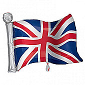 Great Britain Flag Supershape Balloon - 27 inch Foil