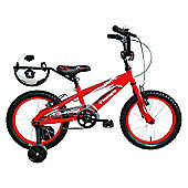 "Tiger Gerald Kids Bike 14"" Wheel Red/White"