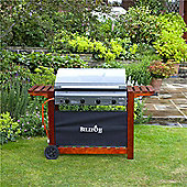 The BillyOh Acorn Hooded Gas BBQ Range