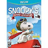 The Peanuts Movie Snoopys Grand Adventure - NintendoWiiU