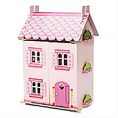 Le Toy Van Traditional Wooden Dolls House - My First Dream House (with furniture)