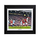 Framed Wayne Rooney signed Manchester United image