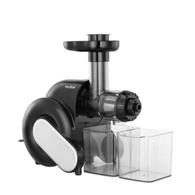 VonShef Horizontal Masticating Slow Juicer for Wheatgrass Fruit & Vegetables