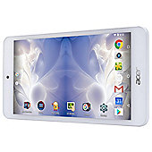 "Acer Iconia One B1-780, 7"" HD Android Tablet 16GB - White"