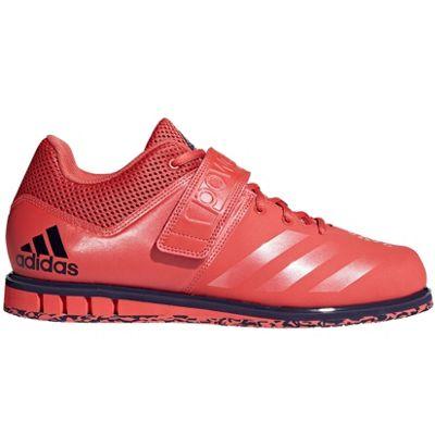 adidas Powerlift 3.1 Mens Weightlifting Powerlifting Shoe Red - UK 8.5