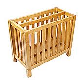 Woodluv 100% Bamboo Magazine Rack Stand- Natural
