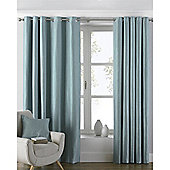 Riva Home Atlantic Eyelet Curtains - Duck egg