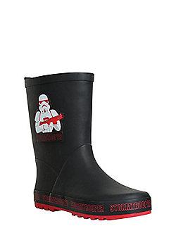 Star Wars Stormtrooper Wellies - Black