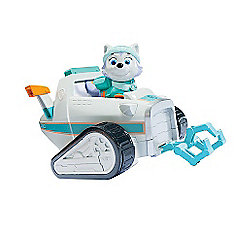 Paw Patrol Rescue Snowmobile with Everest