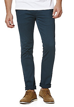 F&F Stretch Skinny Chinos - Green