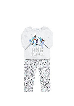 Disney Olaf's Frozen Adventure Pyjamas - Grey & White