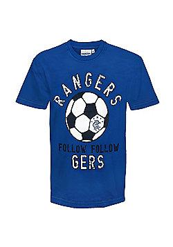 Rangers FC Infants Graphic T-Shirt - Royal blue