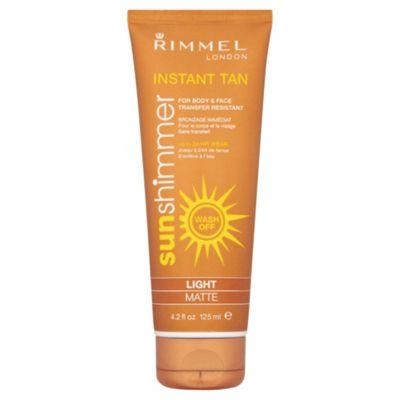 Rimmel Sun Shim Instant Tan M/Uplght Matte 125Ml