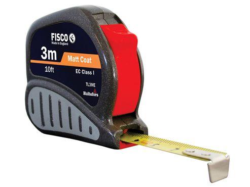 Fisco TL3ME Tri-lok Pocket Tape 3m/10ft (Width 13mm)