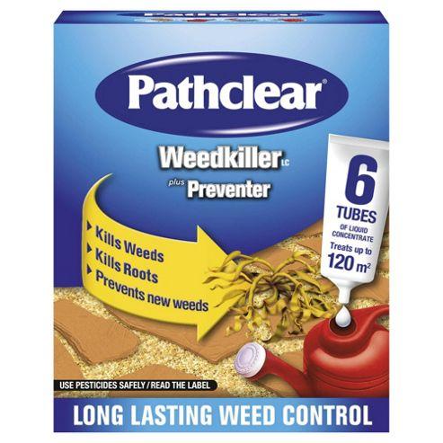 Pathclear Weedkiller tubes 6 PK