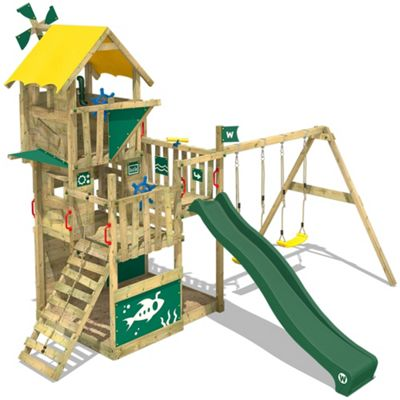 Climbing Tower Wickey Smart Flight With Green Slide