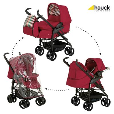 Hauck Condor All-In-One Pushchair, Chilli