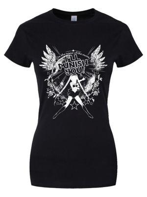 I'll Punish You Women's T-shirt, Black.