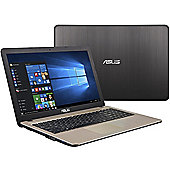 "ASUS VIVOBOOK 15.6"" Intel Pentium 4GB RAM 1000GB Windows 10 Slim Laptop Black"