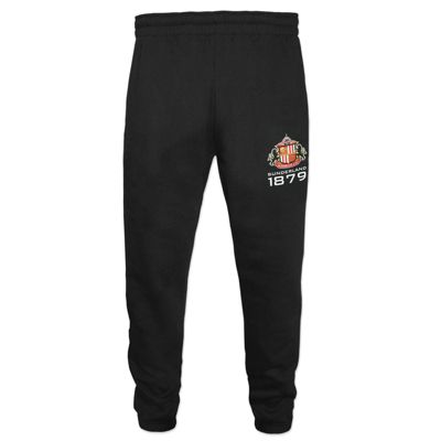 Sunderland AFC Boys Slim Fit Jog Pants Black 6-7 Years