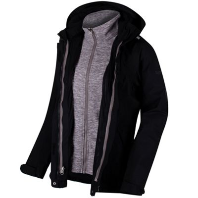 Regatta Ladies Calyn Stretch 3-1 Jacket Black 16