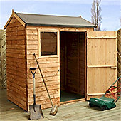Reverse Overlap Apex Shed Garden Wooden Shed