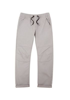 F&F Honeycomb Texture Drawstring Trousers Grey 5-6 years