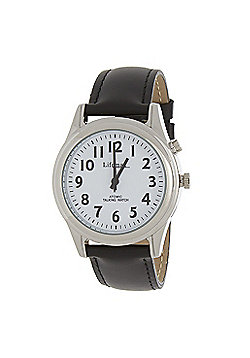 RNIB Small Radio Controlled Talking Watch - Leather Strap