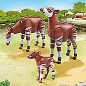 Playmobil City Life Zoo Okapi Family