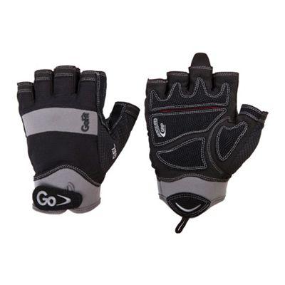 GoFit Men's Elite Grip Gel Glove with Training CD X LARGE