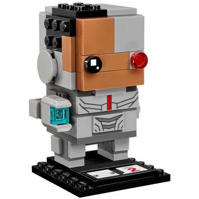 Lego Dc Super Heroes Brickheadz Cyborg 41601