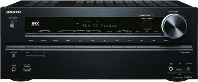 ONKYO TXNR616 NETWORKED 3D READY HOME CINEMA RECEIVER WITH 4K UPSCALING (BLACK)
