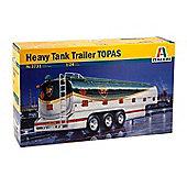 Heavy Tank Trailer TOPAS - 1:24 Scale - 3731 - Italeri