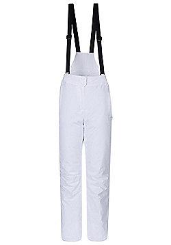 Mountain Warehouse Moon Womens Ski Pants - White