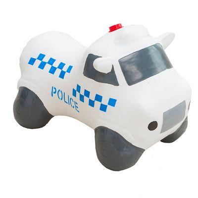Happy Hopperz White Police Car