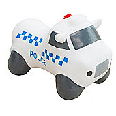 Happy Hopperz White Police Car