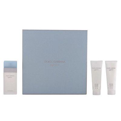 Dolce Gabbana Light Blue 50ml Eau De Toilette Spray Gift Set
