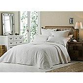 Versailles Bedspread Set White - White