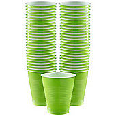 Lime Green - 473ml Plastic Party Cups - 50 Pack