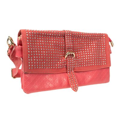 Acess Diamante Trim Clutch Bag