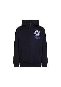 Chelsea FC Boys Zip Hoody - Blue