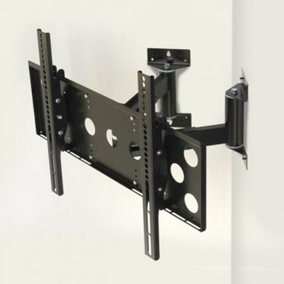 World Mounts Corner mounted wall bracket for 32 inch to 52 inch TVs
