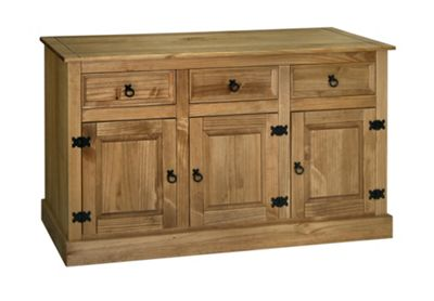 Home Essence Windmill 3 Door and 3 Drawer Sideboard