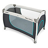 Hauck Play'n Relax Travel Cot (Hearts)