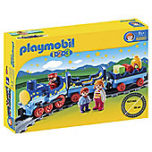PLAYMOBIL NIGHT TRAIN WITH TRACK